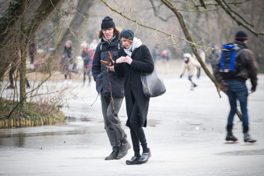 Amsterdam Ice Skating Canals 2018